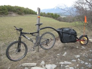 The KIT L80 trailer tested by Expemag